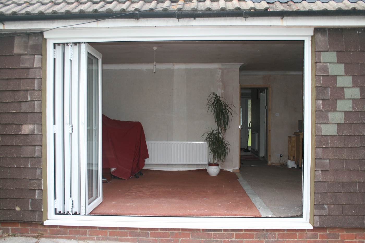 Extension with Bifold Doors